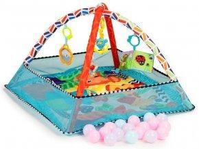 ecotoys hraci deka s 18 micky svetle modra