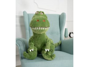 Plysovy dinosaurus Dino zeleny 100 cm 2