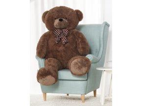 plysovy medved Hugo hnedy 140 cm