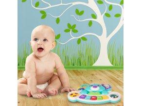 hrajici pianko pro deti koala modre
