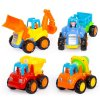 Huile Toys sada 4 auticka na setrvacnik
