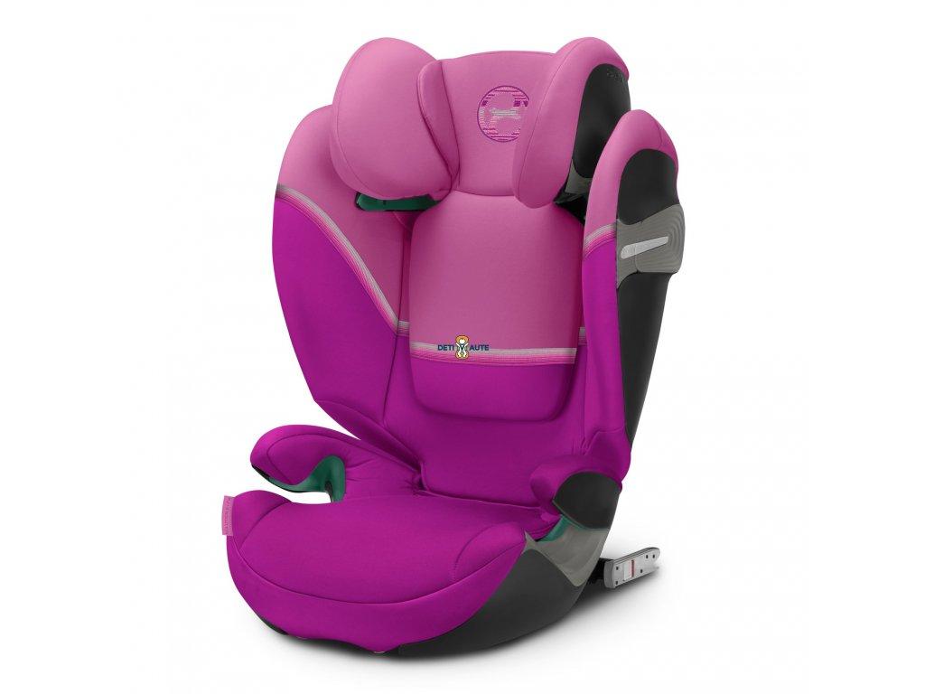 Cybex Solution S i-Fix Magnolia Pink 2021