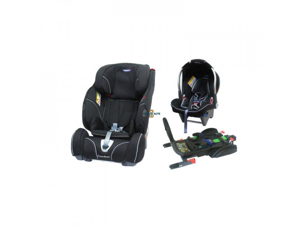 Klippan Triofix Comfort Freestyle so základňou a dinofixom