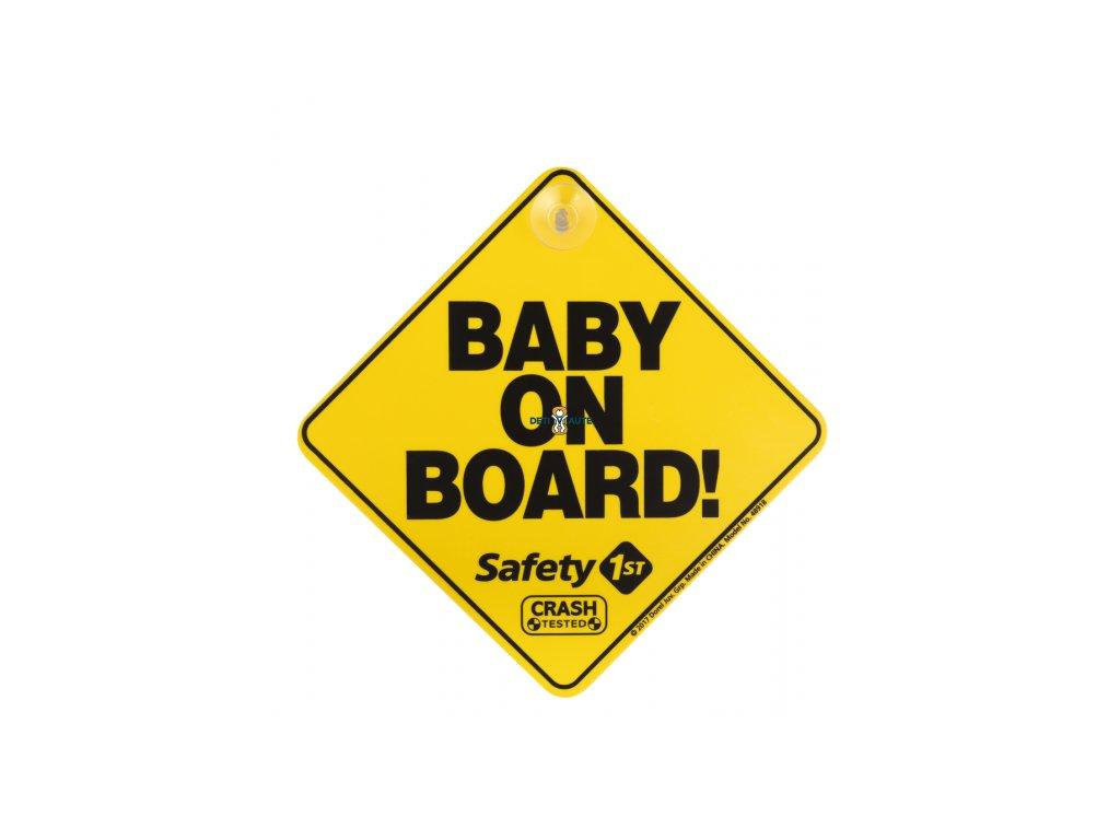 Safety 1st Štítok Baby On Board do auta Yellow
