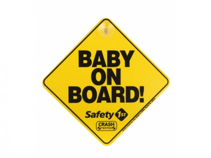 Safety 1st Štítok Baby On Board do auta Yellow