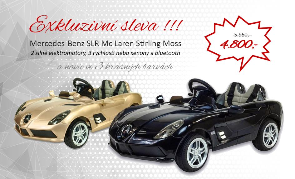 Sleva Mercedes Benz SLR Mc Laren