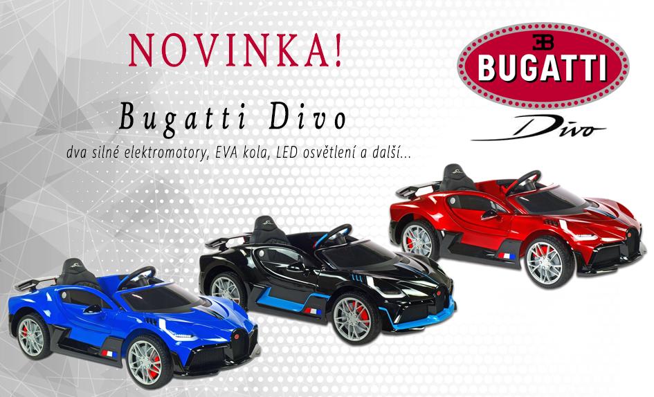Novinka Bugatti Divo
