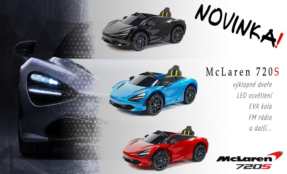 Novinka McLaren 720S