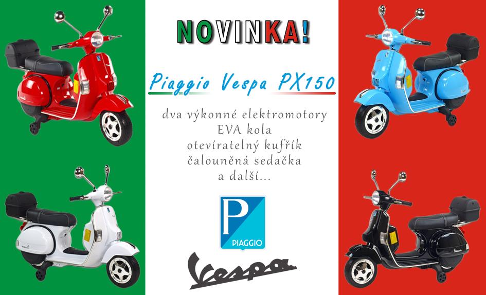 Novinka Piaggio Vespa PX150