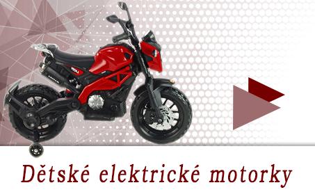 Dětské elektrické motorky