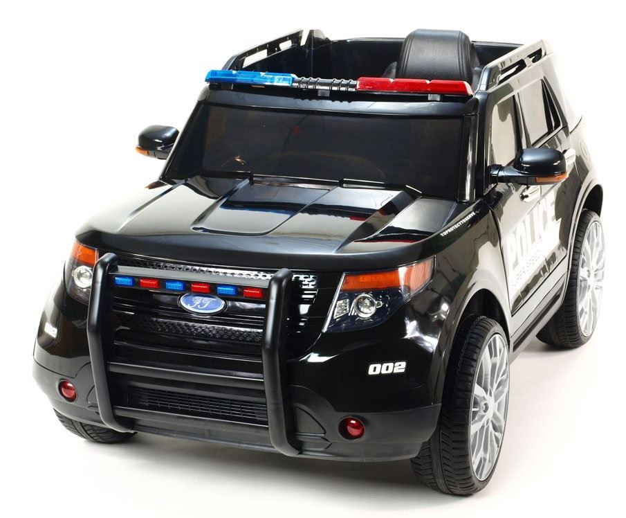 Policejní vozidla