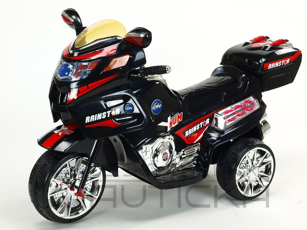 296 22 elektricka motorka new viper s led efekty i mp3 cerna