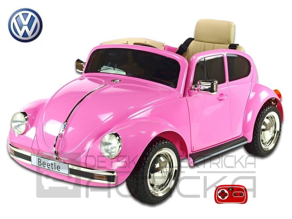 VW beetle růž 1