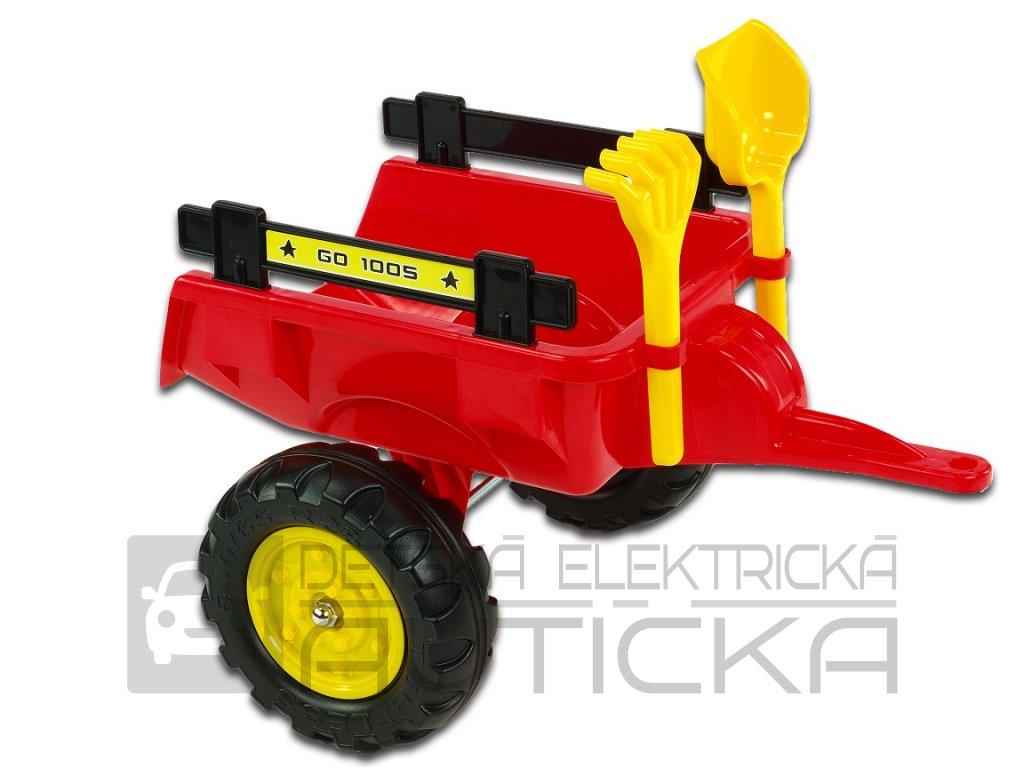 vozík červený 1a