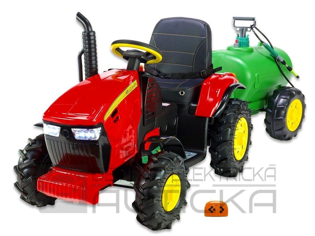 Traktor Hello s cisternou čv 1