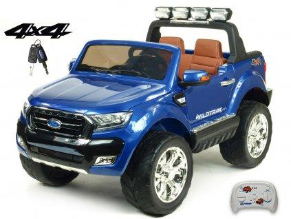 112 31 elektricke auticko ford ranger wildtrak 4x4 lux s 2 4g fm usb modra metaliza