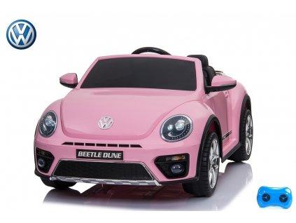 VW Beetle Dune cabrio - lakovaná růžová