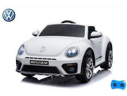 VW Beetle Dune cabrio - lakovaná bílá metalíza