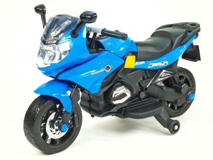 251 17 detska elektricka silnicni motorka 12v modra
