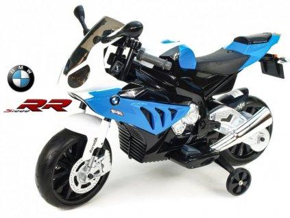 260 20 elektricka motorka bmw s1000 rr superbike modra