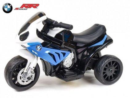 314 14 elektricka motorka trike bmw s1000rr modra