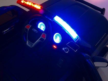 3684 elektricke auticko dzip usa policie s megafonem bily