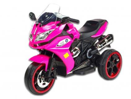 Dragon svítící kola růžový 1
