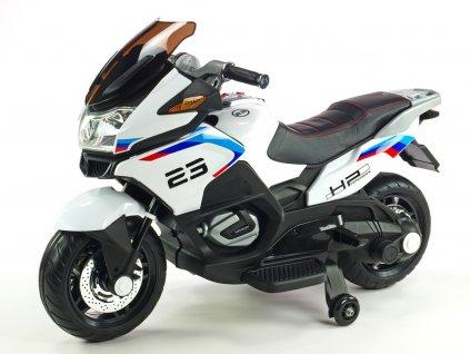 Moto Topspeed bílá 1