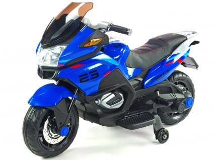 Moto Topspeed modrá 1