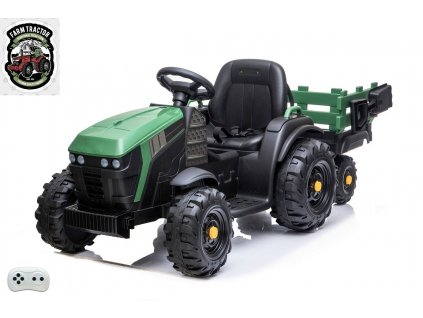 Farmářský traktor s vlekem zel 3