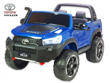Toyota Hilux modrá 0