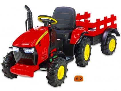 Traktor Hello s vlekem čv 1