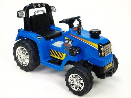 929 47 detsky elektricky traktor 12v modry