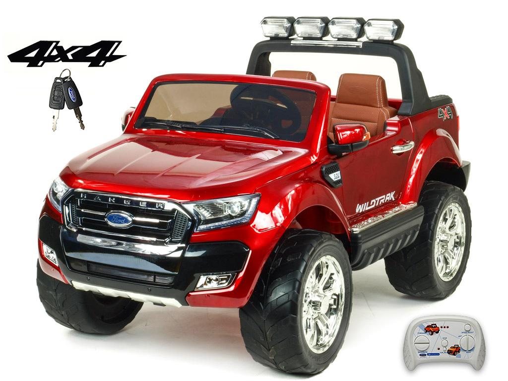 Toys elektrické autíčko Ford Ranger Wildtrak 4x4 LUX s 2,4G, FM, USB, klíčky