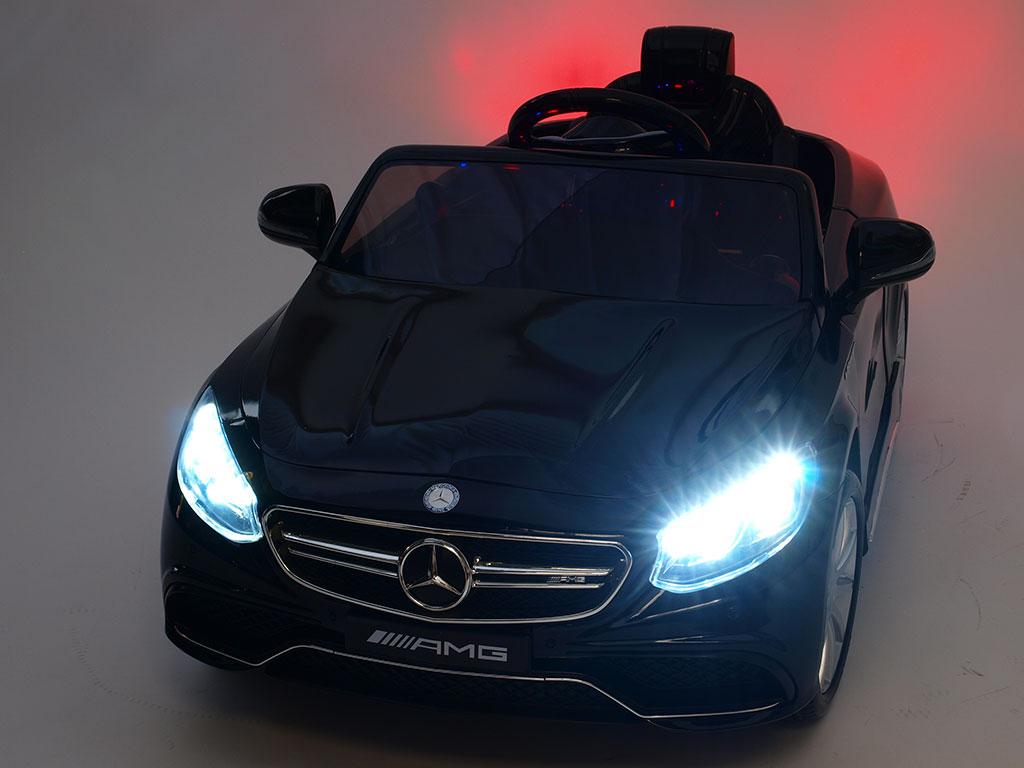 DEA Elektrické autíčko Mercedes - Benz S63 AMG černá metalíza