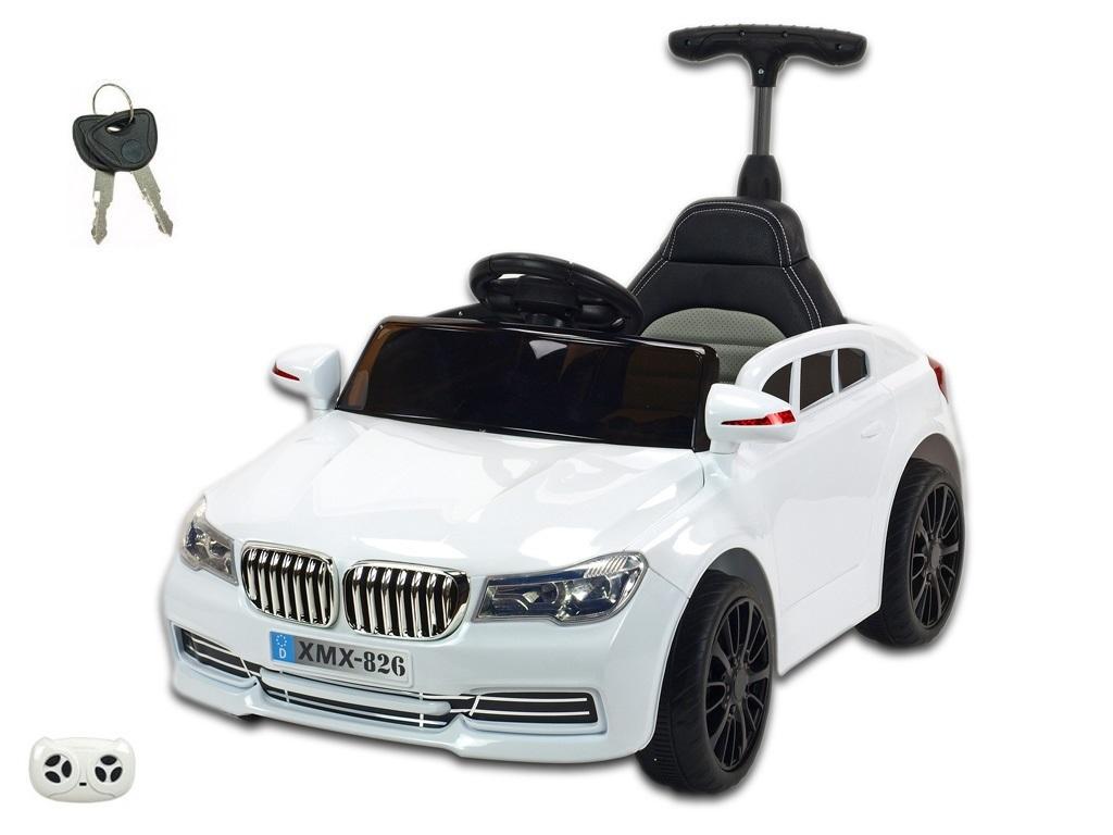 Elektrické autíčko bavoraček xmen bílá
