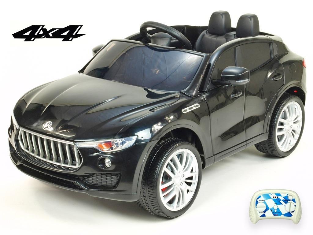 DEA elektrické autíčko Maserati Speed 4x4 černá metalíza