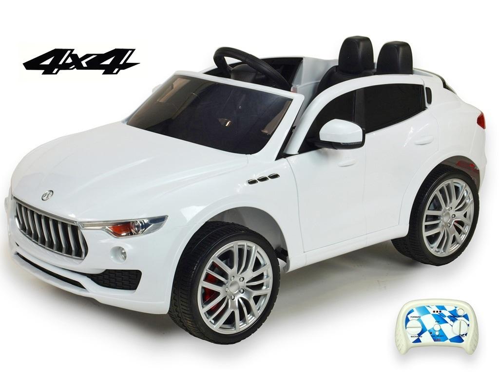 DEA elektrické autíčko Maserati Speed 4x4 bílé