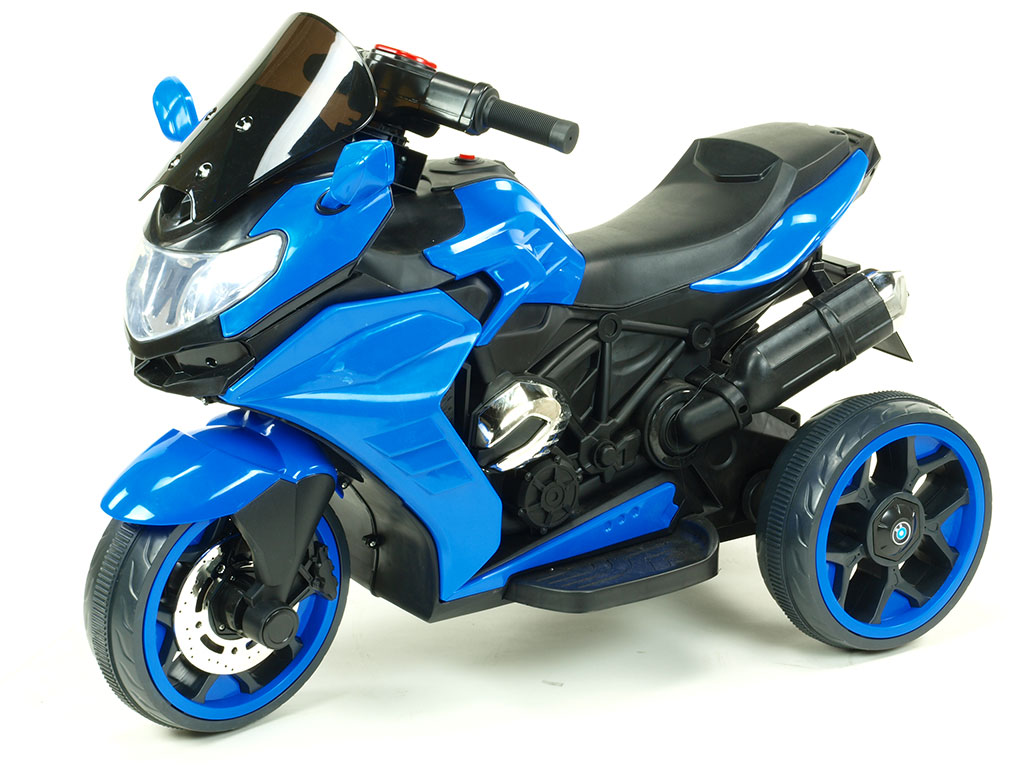 DEA elektrická motorka Tricykl Dragon červená