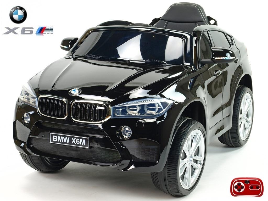 Elektrické SUV BMW X6M jednomístné černý lak