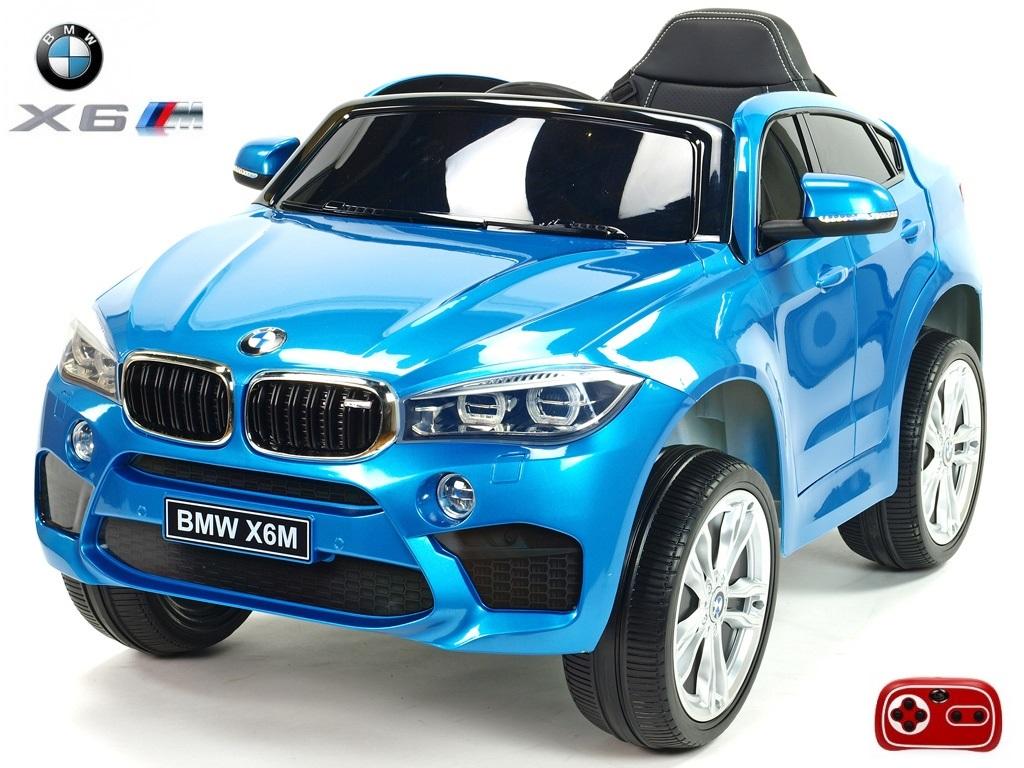 Elektrické SUV BMW X6M jednomístné modrý lak