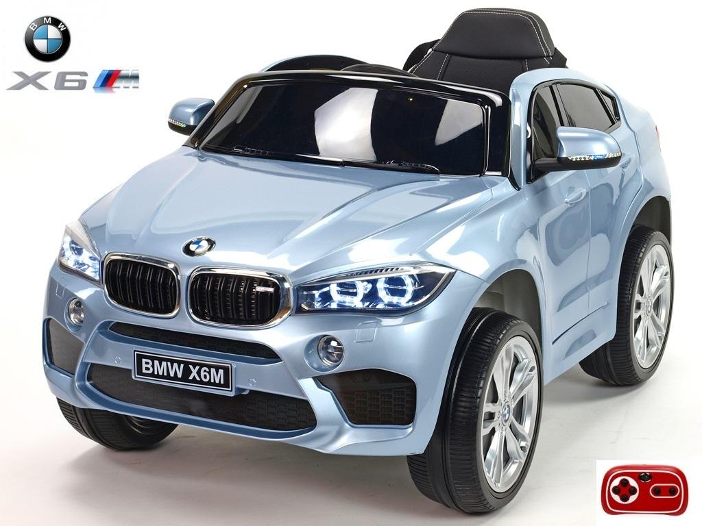 Elektrické SUV BMW X6M jednomístné stříbrný lak