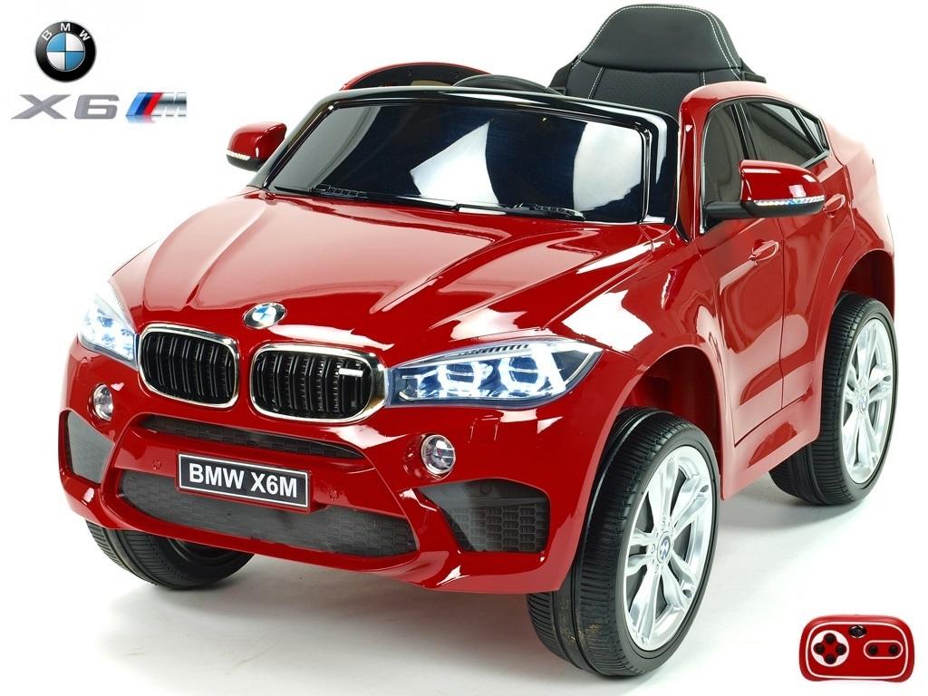 Elektrické SUV BMW X6M jednomístné červený lak