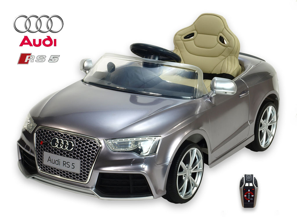 DEA elektrické autíčko Audi RS5 stříbrná metalíza