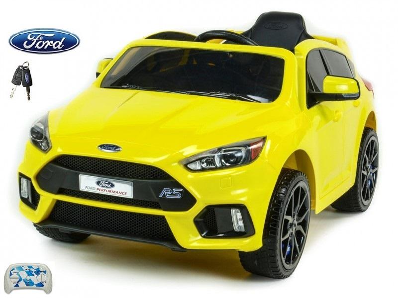 DEA elektrické autíčko Ford Focus RS žlutý