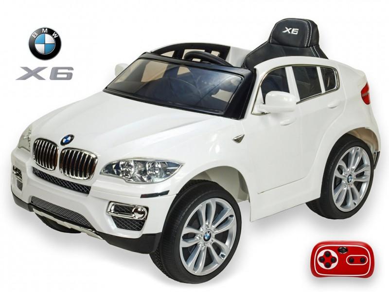 DEA elektrické autíčko BMW X6 bílá nelakované