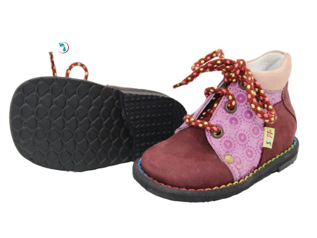 """Dětská obuv supinační - """"1. botičky"""""""