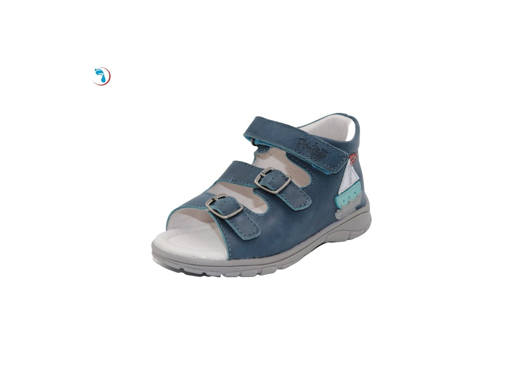 Dětské sandály supinační PONTE pro úzkou nohu