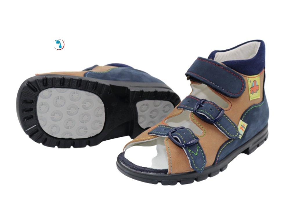 Dětské sandály supinační BOKOR - vyšší nárt