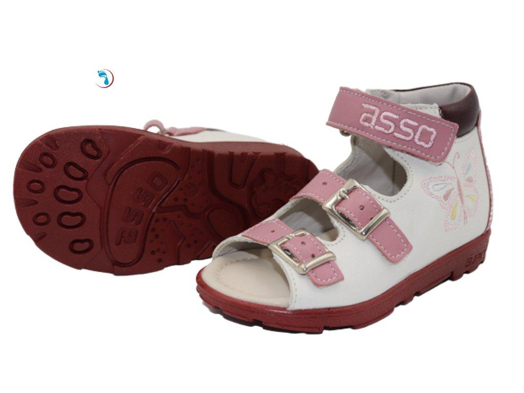 Dětské sandály supinační ASSO